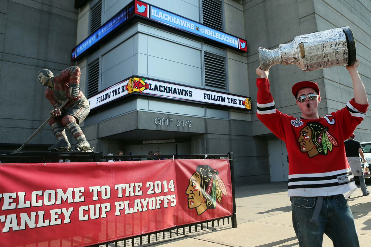 Seriously, where do the Blackhawks find these people?