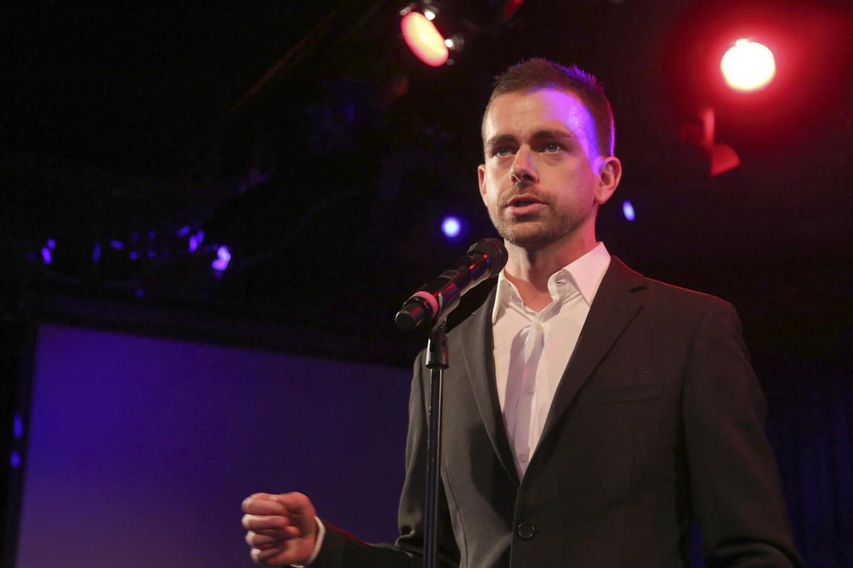 In this Wednesday, April 24, 2013, file photo, Twitter co-Founder Jack Dorsey speaks at a fundraiser in New York.