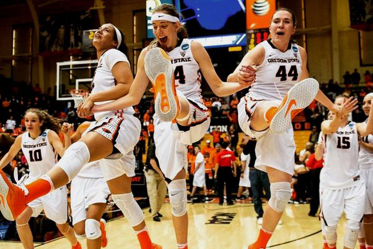 Oregon State is still dancing, and have their dance card ready for Saturday.