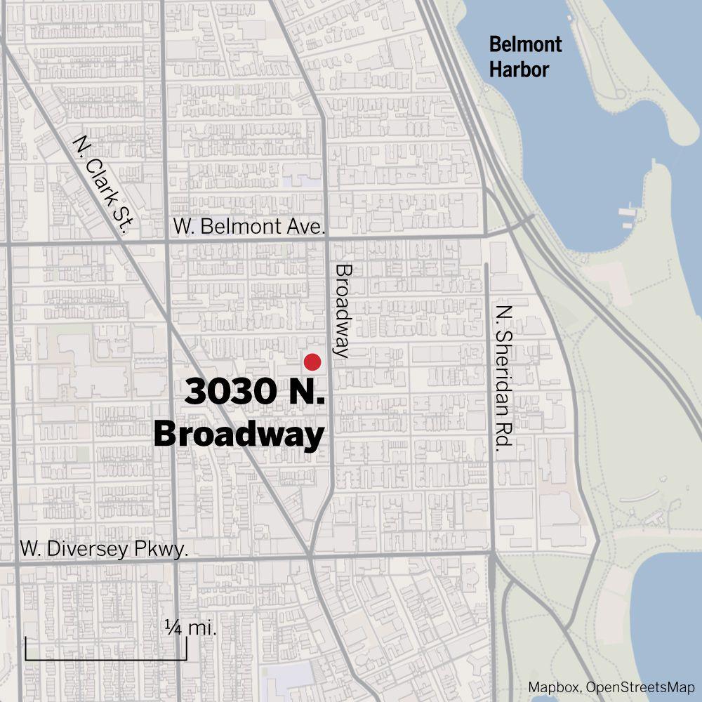 Map of 3030 N. Broadway