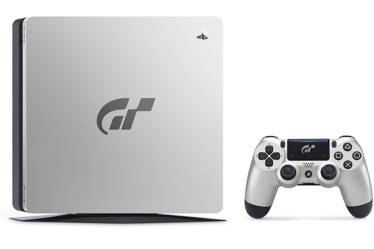 Sony Has Unveiled A Shiny New Limited Edition Gran Turismo Themed Playstation 4 Featuring Faceplate Bearing The GT Logo And Customized Wireless