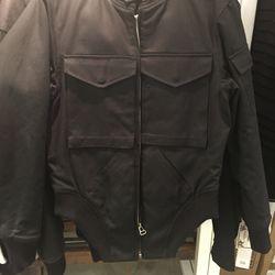 Oak men's bomber jacket, size 0, $275.20 (from $688)