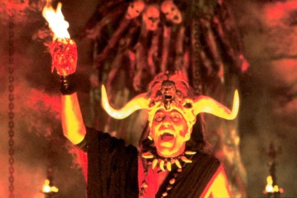 Mola Ram - you know, the good guy from Temple of Doom