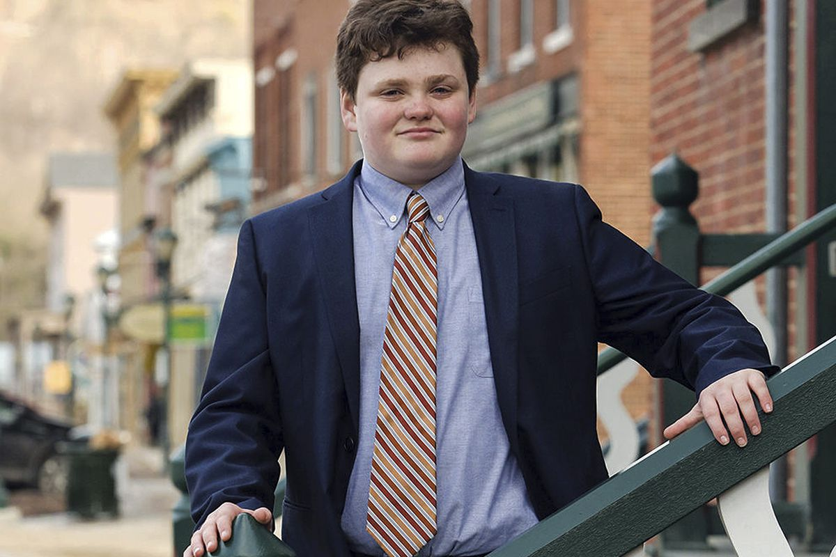 This undated photo provided by the Ethan 2018 Campaign shows Ethan Sonneborn, of Bristol, Vt., who is one of the four Vermont Democrats seeking the party nomination to run for governor in the Tuesday, Aug. 14, 2018, primary election. The state constitutio