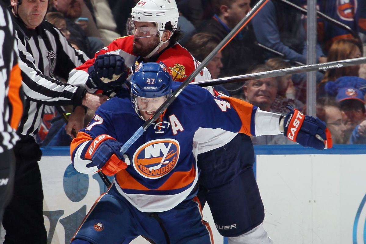 After eight years in the organization, an Islander no more.