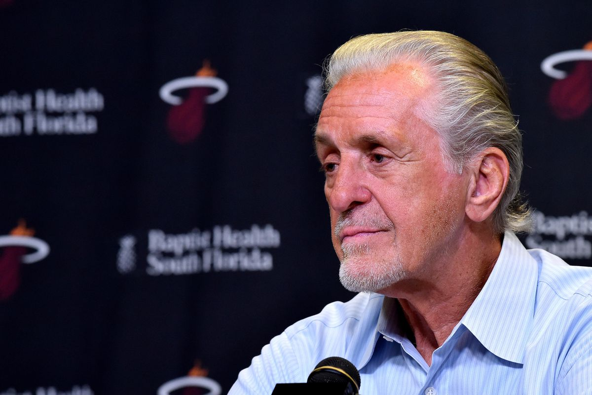 2cad40183a0 Pat Riley is reportedly not a candidate to replace Magic Johnson with Lakers