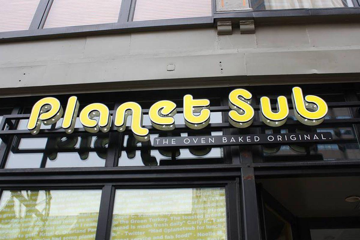 Planet Sub in Denver.