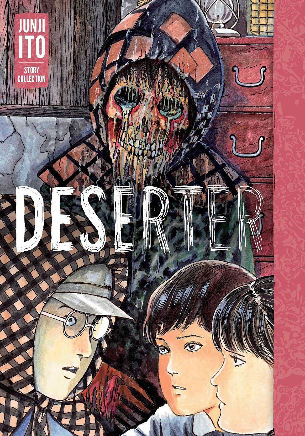 A mummified corpse on the cover of Deserter (2021).