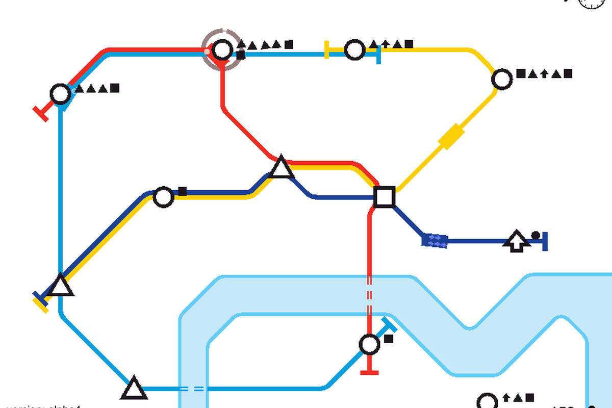 If You Ve Ever Wanted To Design A Subway Map You Should Play Mini