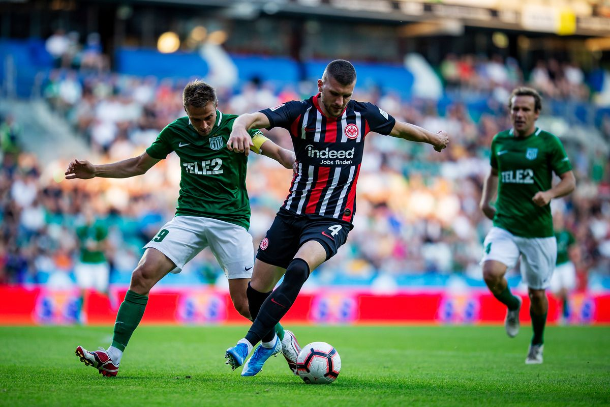 Flora Tallinn v Eintracht Frankfurt – UEFA Europa League Second Qualifying Round: 1st Leg