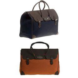 "Marcella Grande, <a href=""http://fairchildbaldwin.com/collections/bobby-duffels/products/marcella-grande-bag"">$1,195</a>"