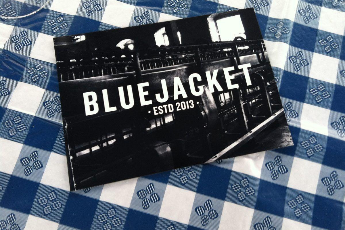 Logo of Bluejacket, coming to Navy Yard.
