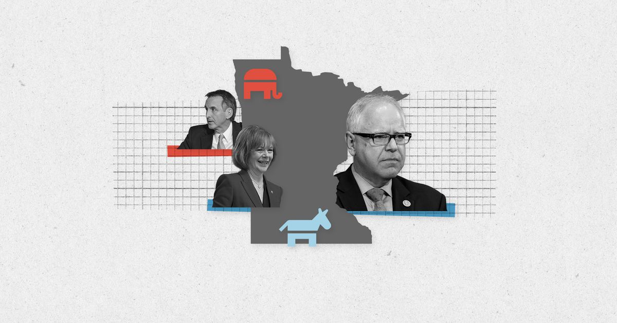 Live results for Minnesota primary elections