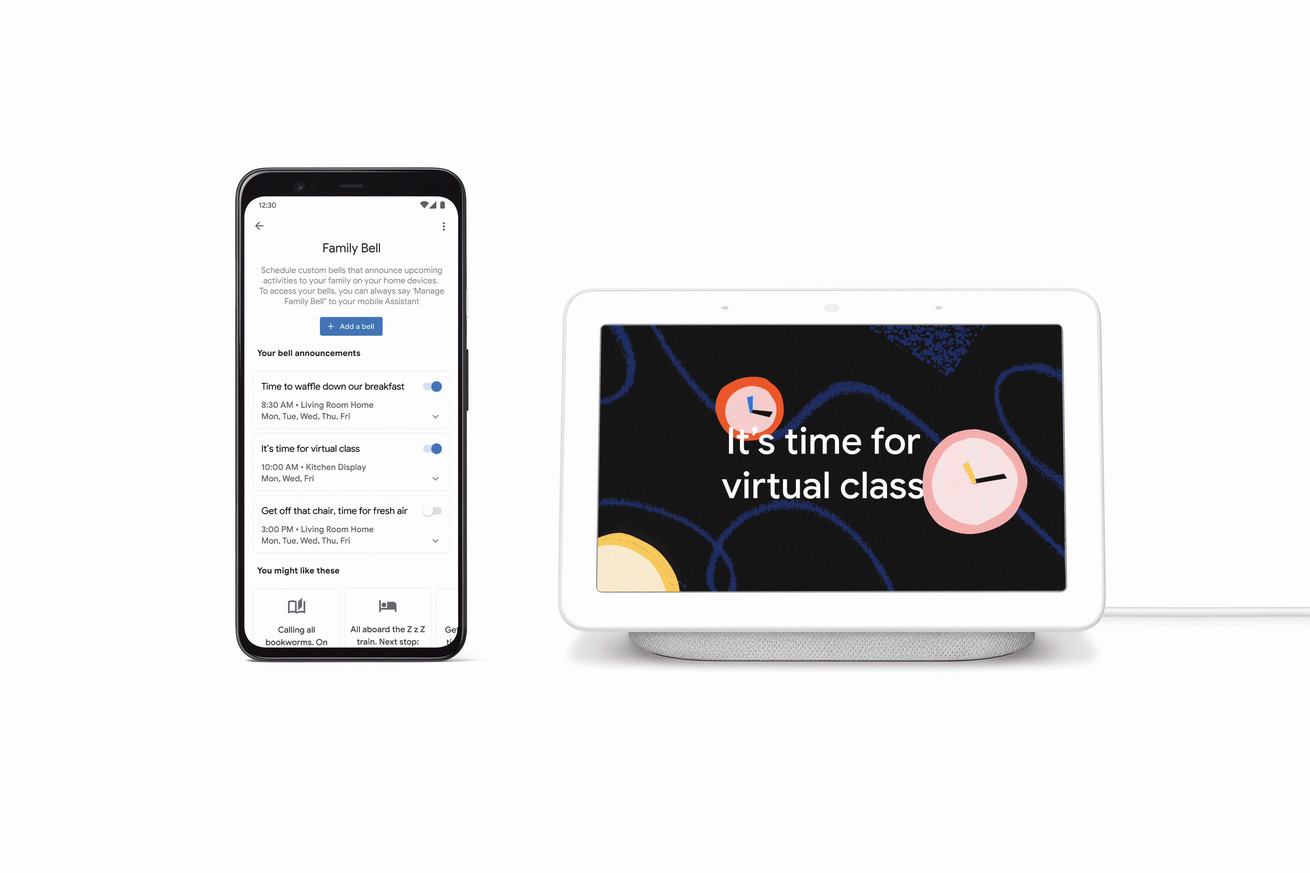 Google is adding new homeschooling features to Assistant smart displays and speakers