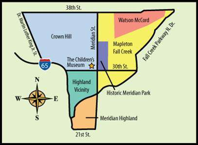 The neighborhoods served by Mid-North Promise.