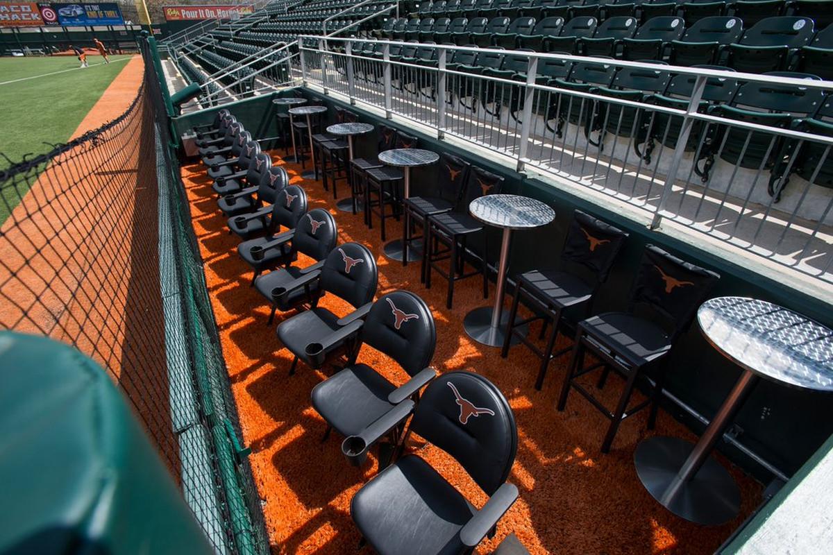 Texas Longhorns Baseball Has A New Dugout Suite Burnt Orange Nation