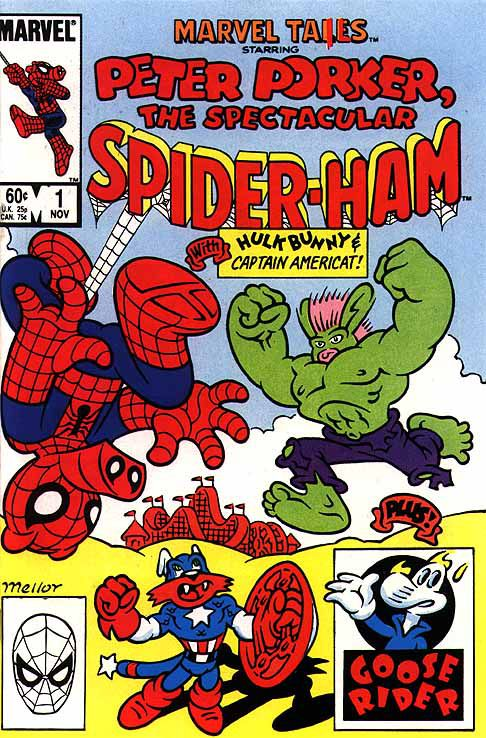 Spider Ham Into The Spider Verse S Oddest Spider Man