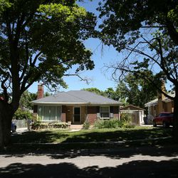 """Salt Lake City Recorder Gary Ott's home in Salt Lake City is photographed on Wednesday, June 14, 2017. Ott hasn't been paying his home equity loan for almost a year, and his property could be sold by the bank in three months, according to a """"notice of default"""" obtained from the Salt Lake County Recorder's office on Wednesday."""