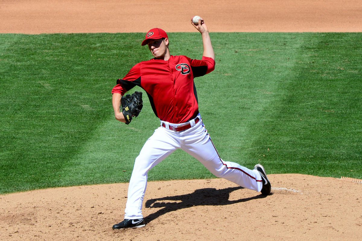 Patrick Corbin has pitched spectacularly seemingly from the moment Spring Training began. Is he next in line to join Arizona's rotation? Mandatory Credit: Matt Kartozian-US PRESSWIRE