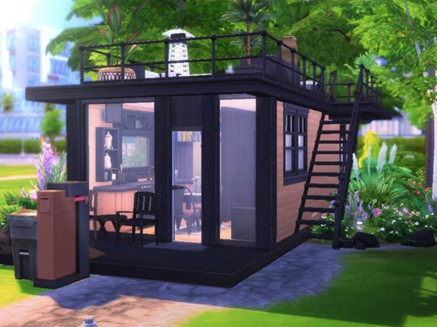 In the Sims 24, tiny houses thrive - Curbed