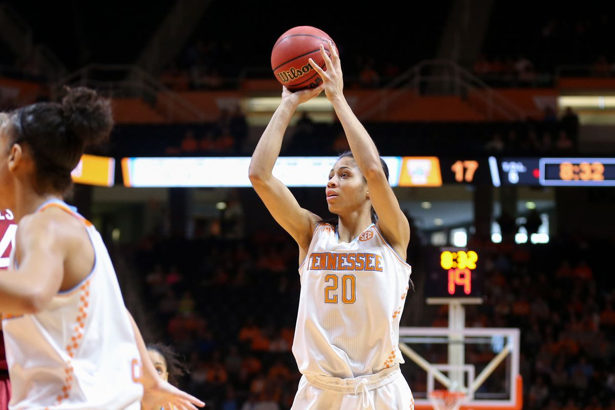 Izzy Harrison led the Vols over the Ags on Thursday night (but this pic is vs Stanford)