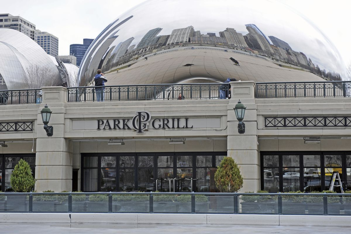 The Park Grill in Millennium Park.