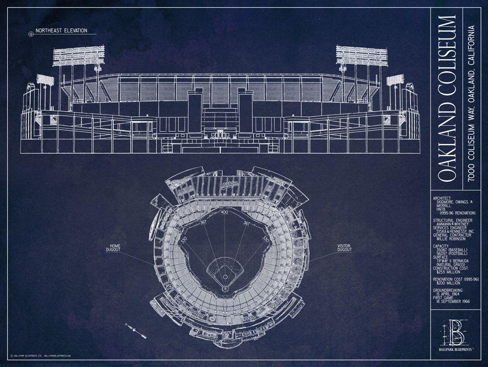 Ballpark Blueprints Coliseum