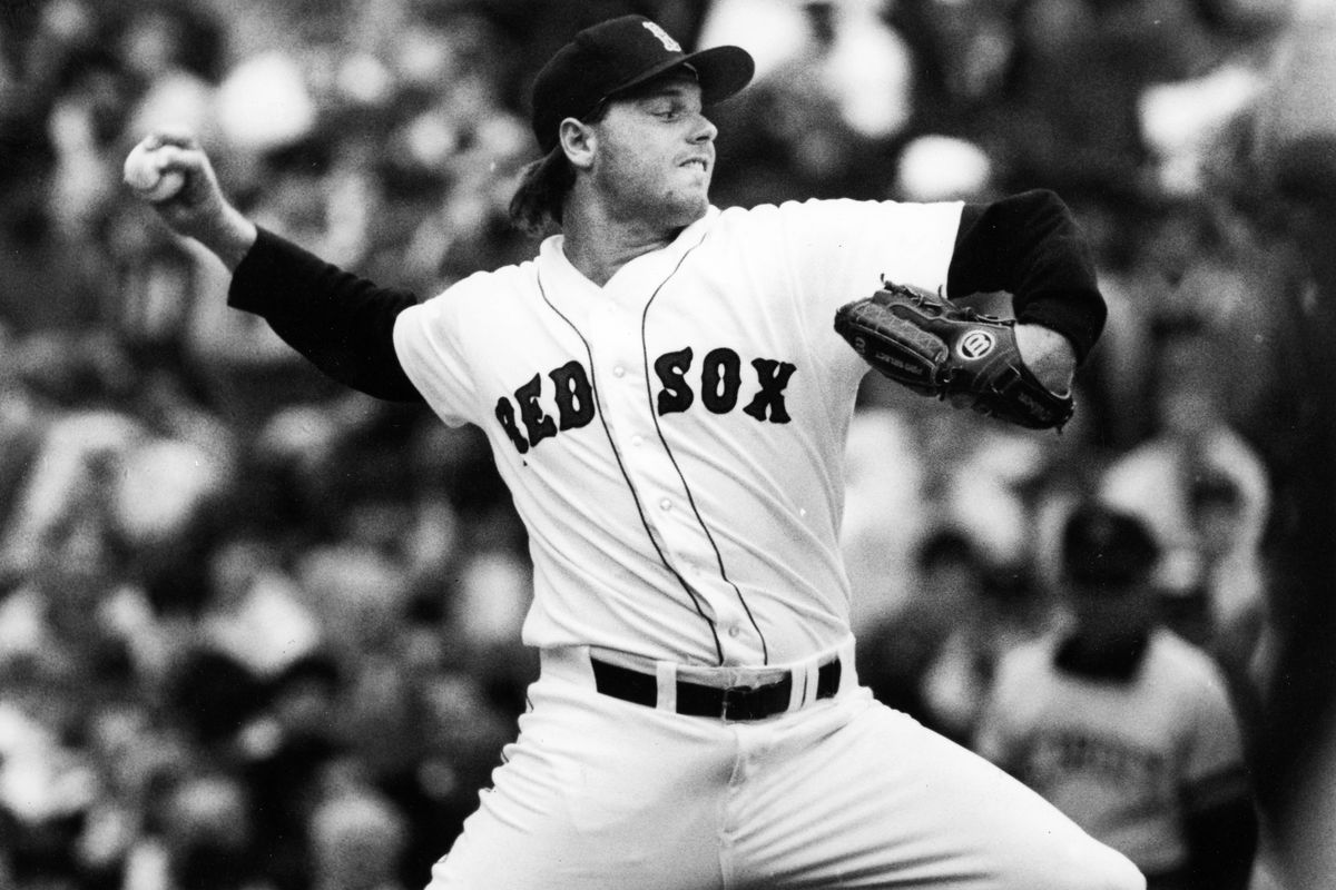Boston Red Sox Roger Clemens...