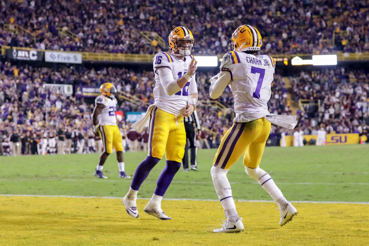 Report Cowboys Hold Private Workout With Lsu Wr D J Chark Blogging The Boys