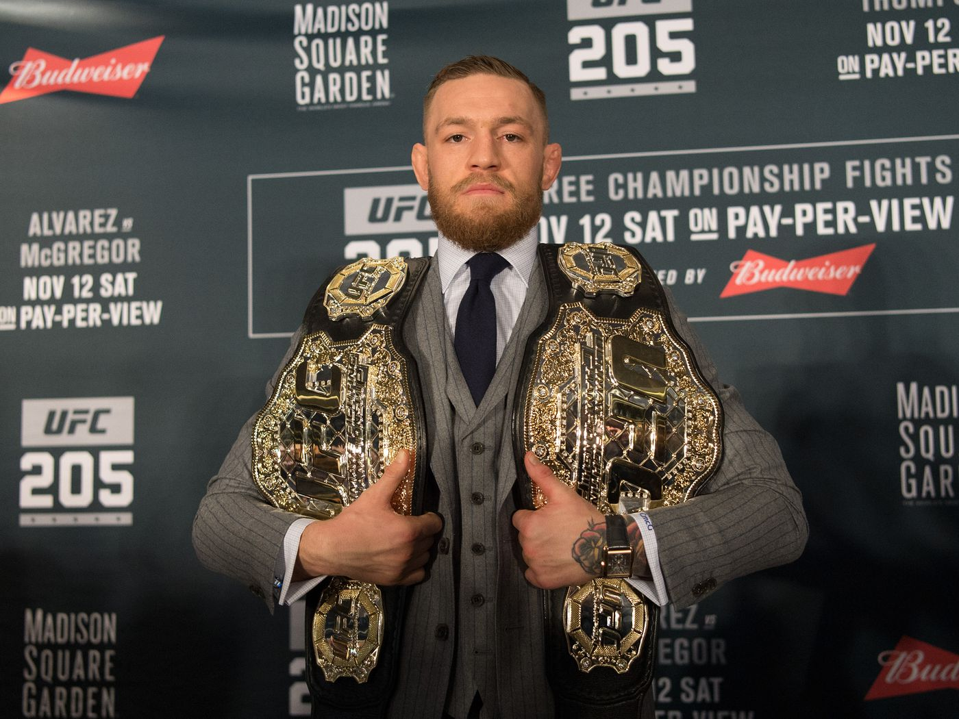 Conor McGregor regrets not fighting Woodley before Mayweather: 'I should have went for that treble' - MMAmania.com