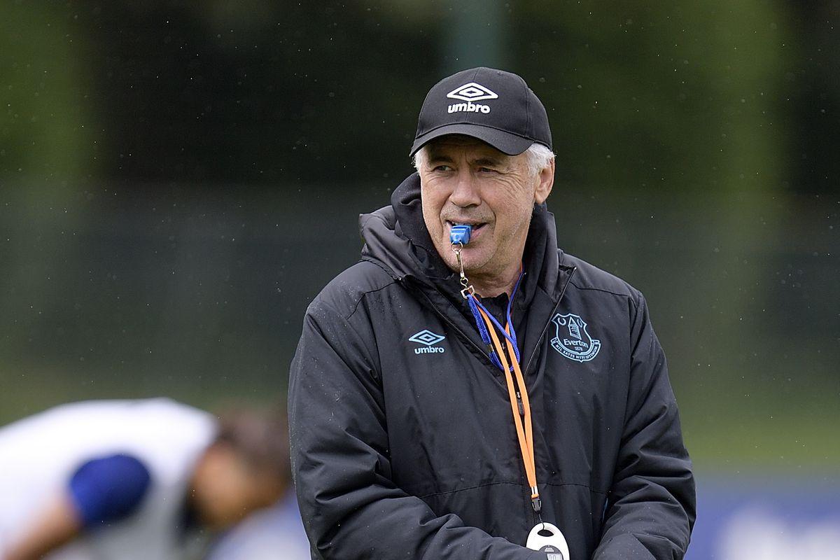 Everton Training Sessiom