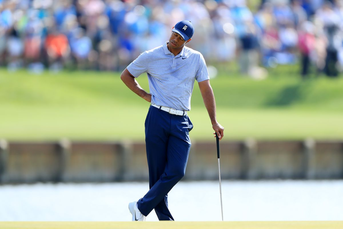 5c50965d67466 How Tiger Woods cost himself multiple shots by failing to use golf s new  rules