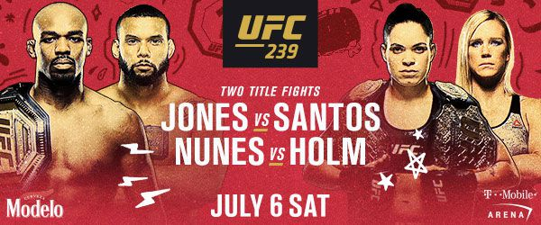 UFC 239 tickets: Seats for sale online for 'Jones vs Santos' event on July 6