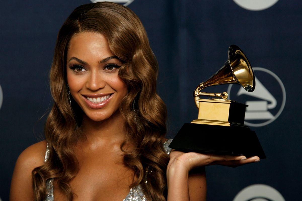 Beyonce 2007 Grammys