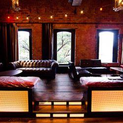 Black Jack's raised lounge.