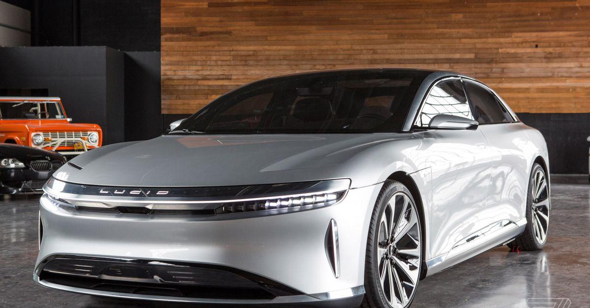 Tesla challenger Lucid Motors also in talks with Saudi Arabia for reported $1 billion funding
