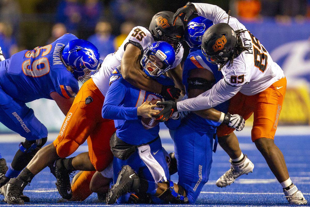 NCAA Football: Oklahoma State at Boise State