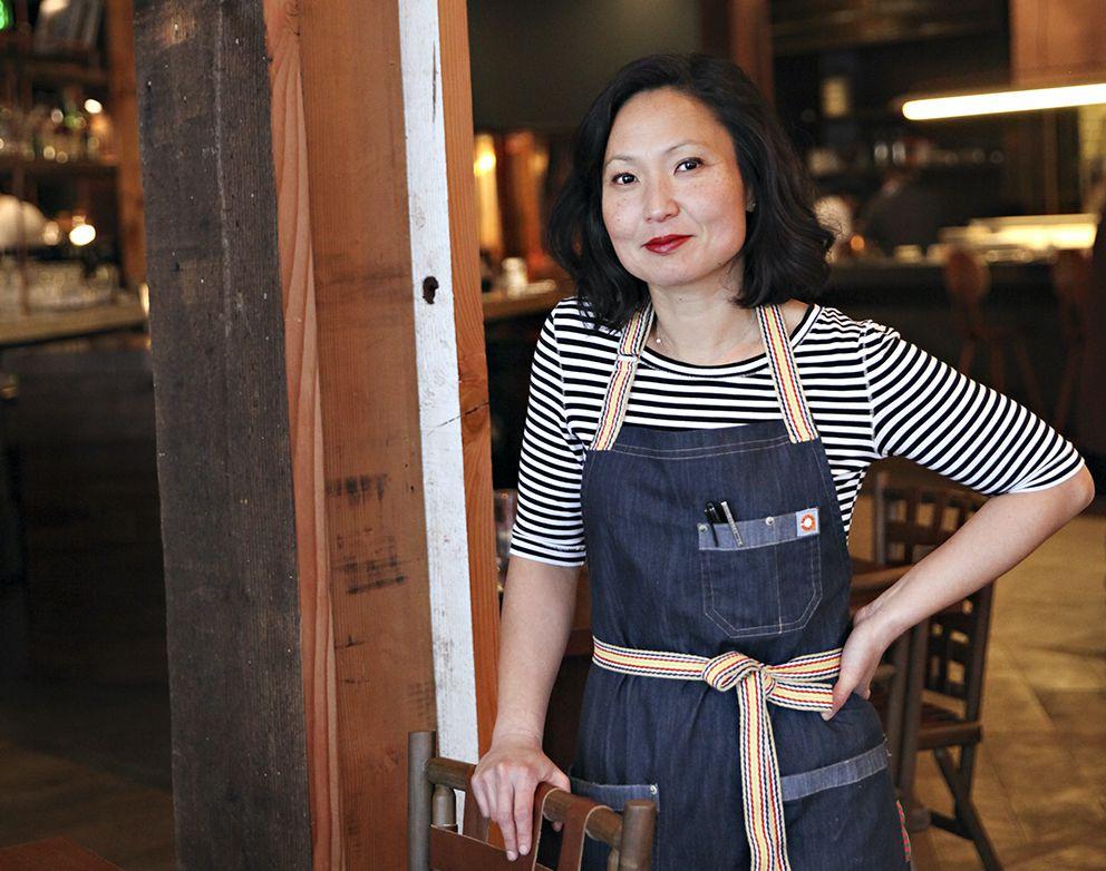 Ann Kim inside Young Joni