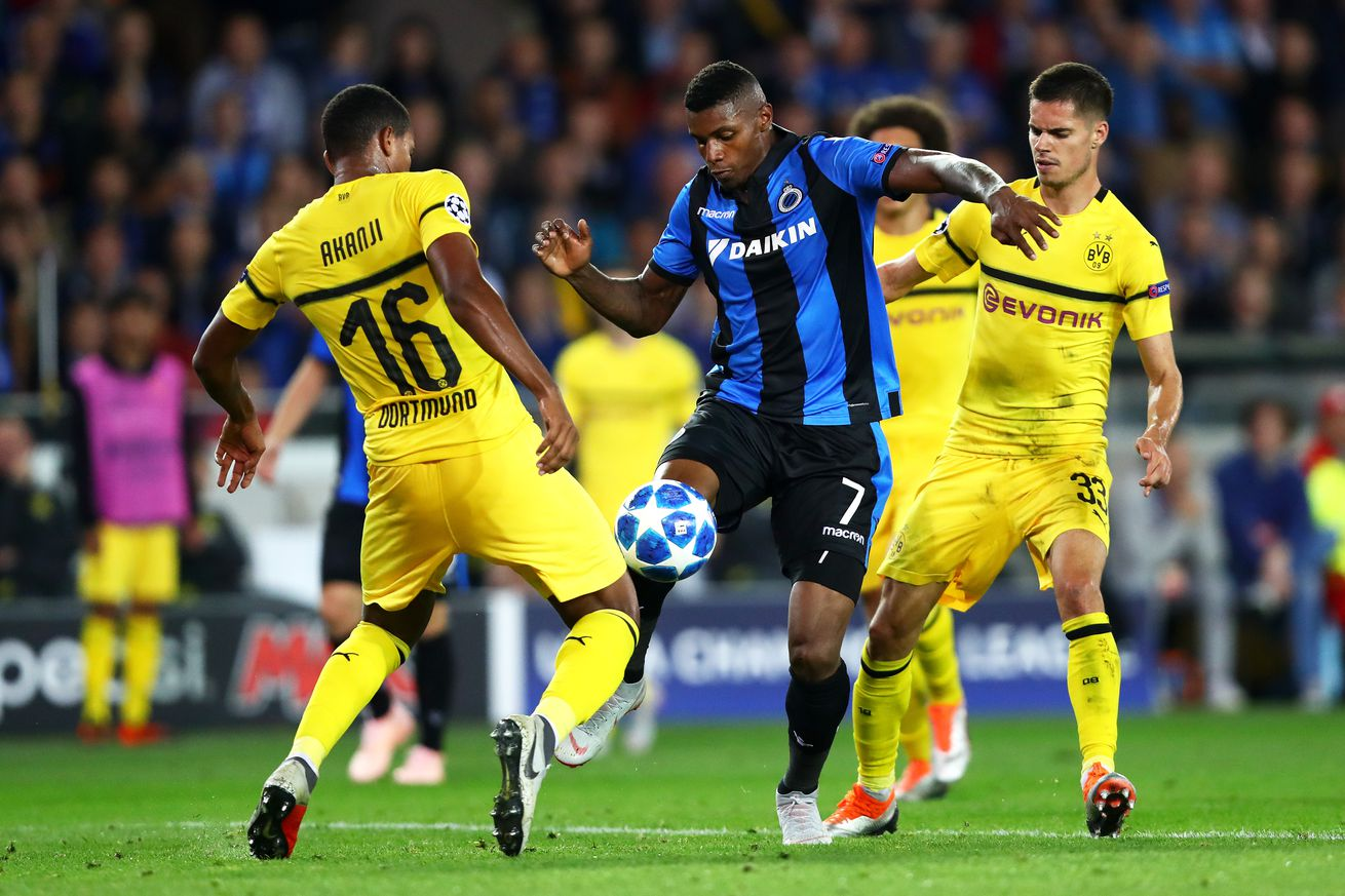 Borussia Dortmund 1 - 0 Club Brugge: BVB start Champions League campaign with lackluster win over Belgian giants
