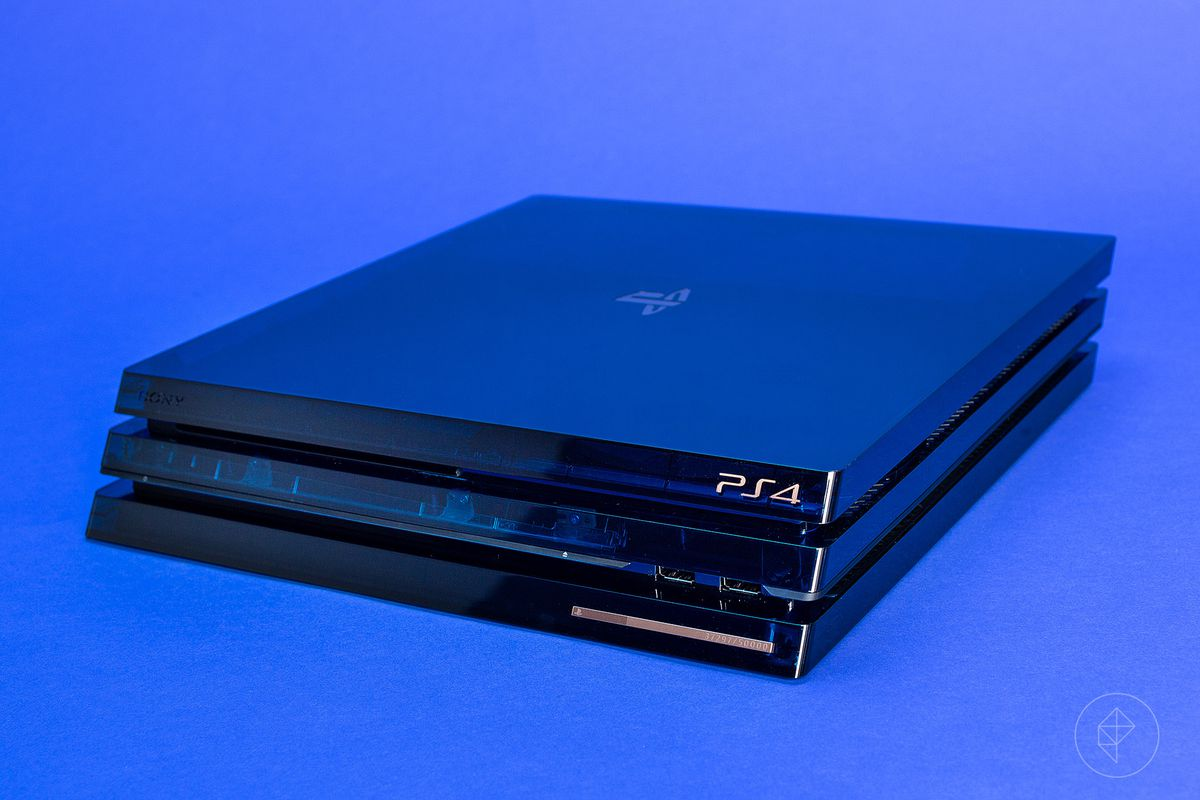 500 Million Limited Edition PS4 Pro detailed in close-up unboxing