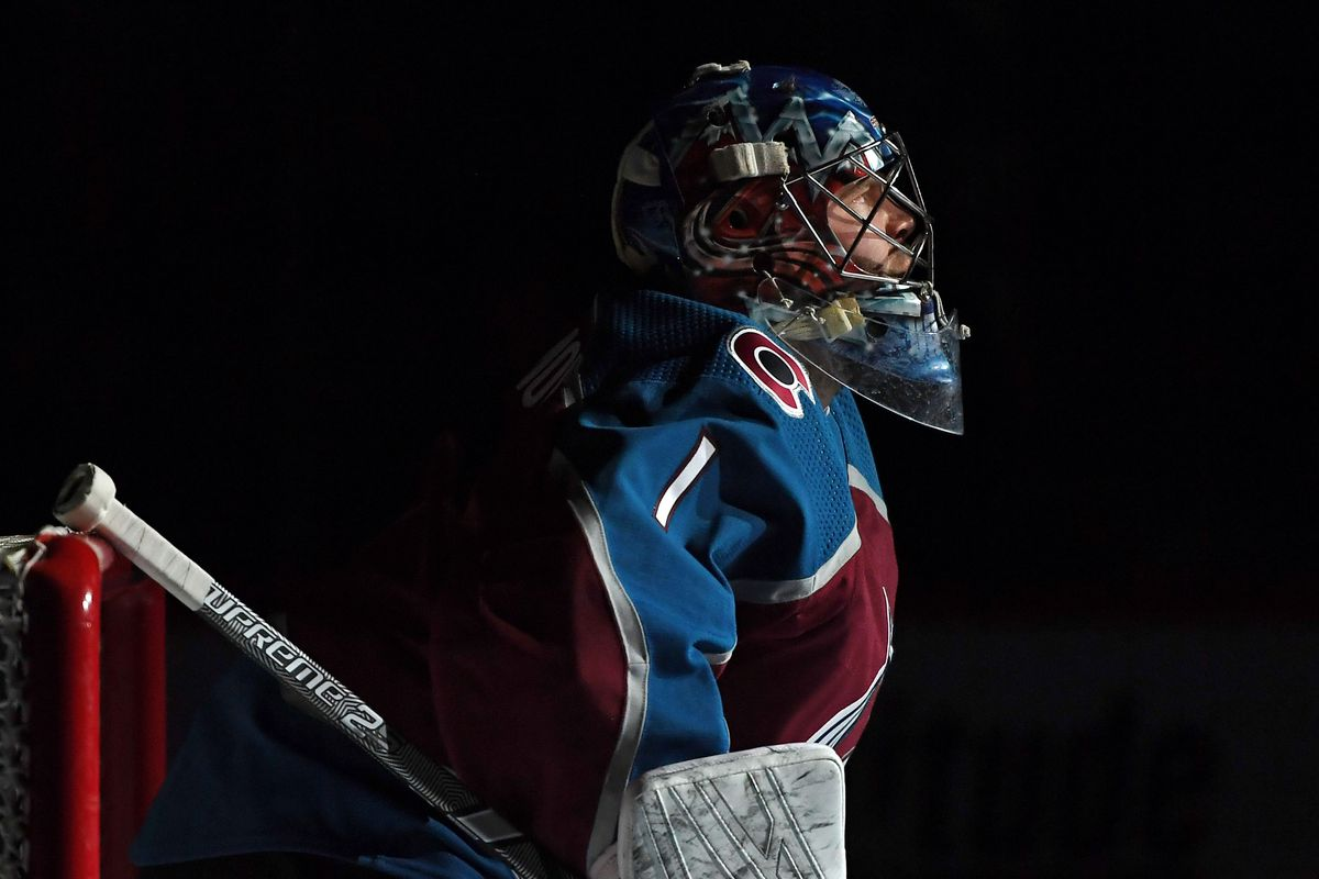 NHL: Vegas Golden Knights at Colorado Avalanche