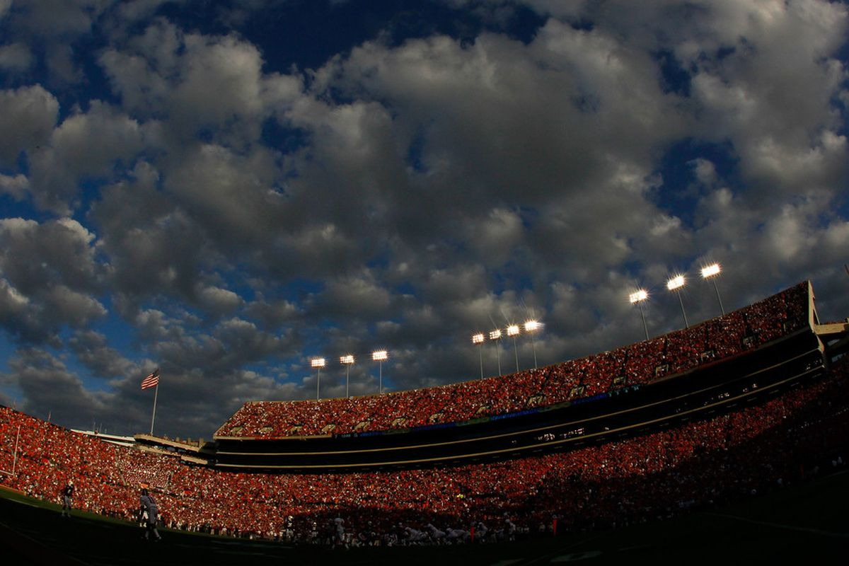 They'll be remembered at Jordan-Hare.  (Photo by Kevin C. Cox/Getty Images)