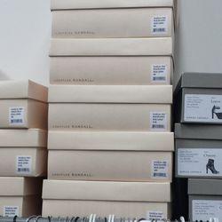 Boxes of Dahlia Pumps, $95