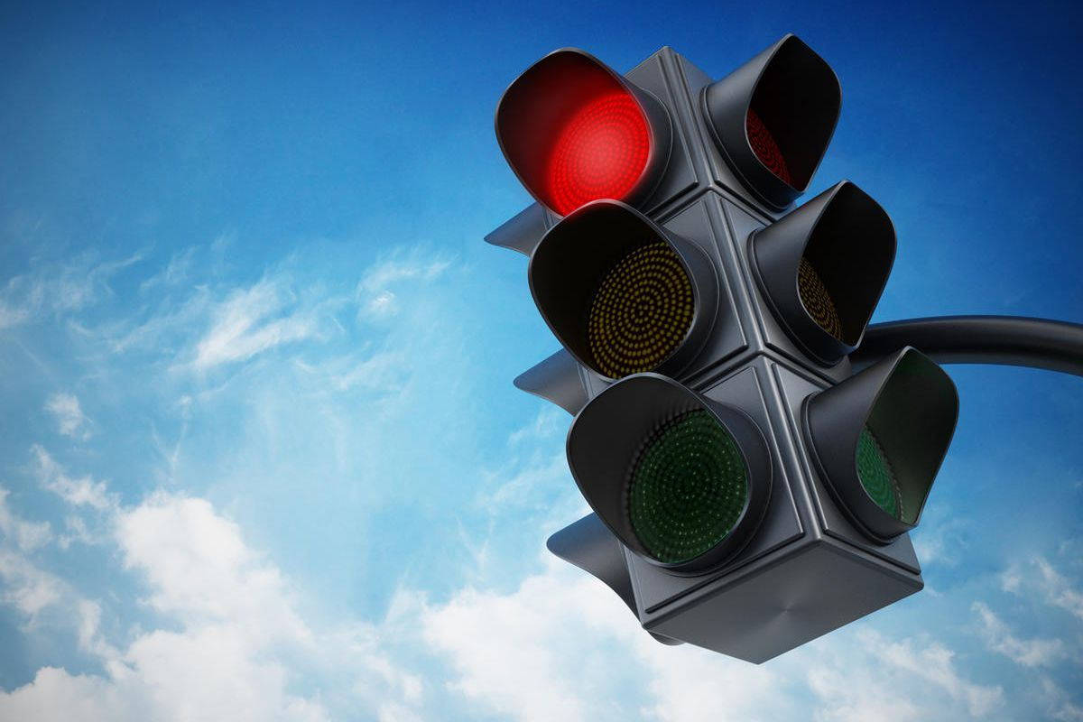Jarlstrom's troubles began when his wife got a $150 red-light camera ticket. He became interested in the timing of traffic lights and decided there was something wrong with the formula used in Oregon and elsewhere to time how long traffic lights stay yell