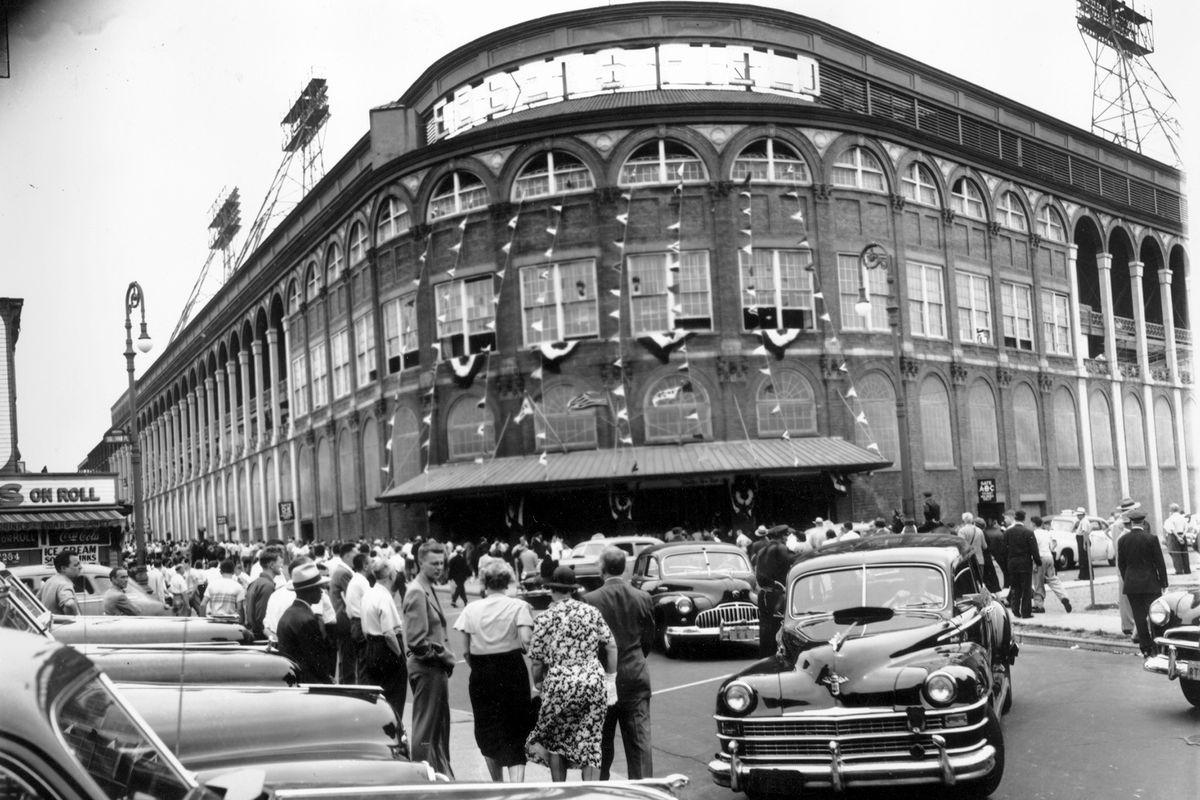 Ebbets Field in Brooklyn.