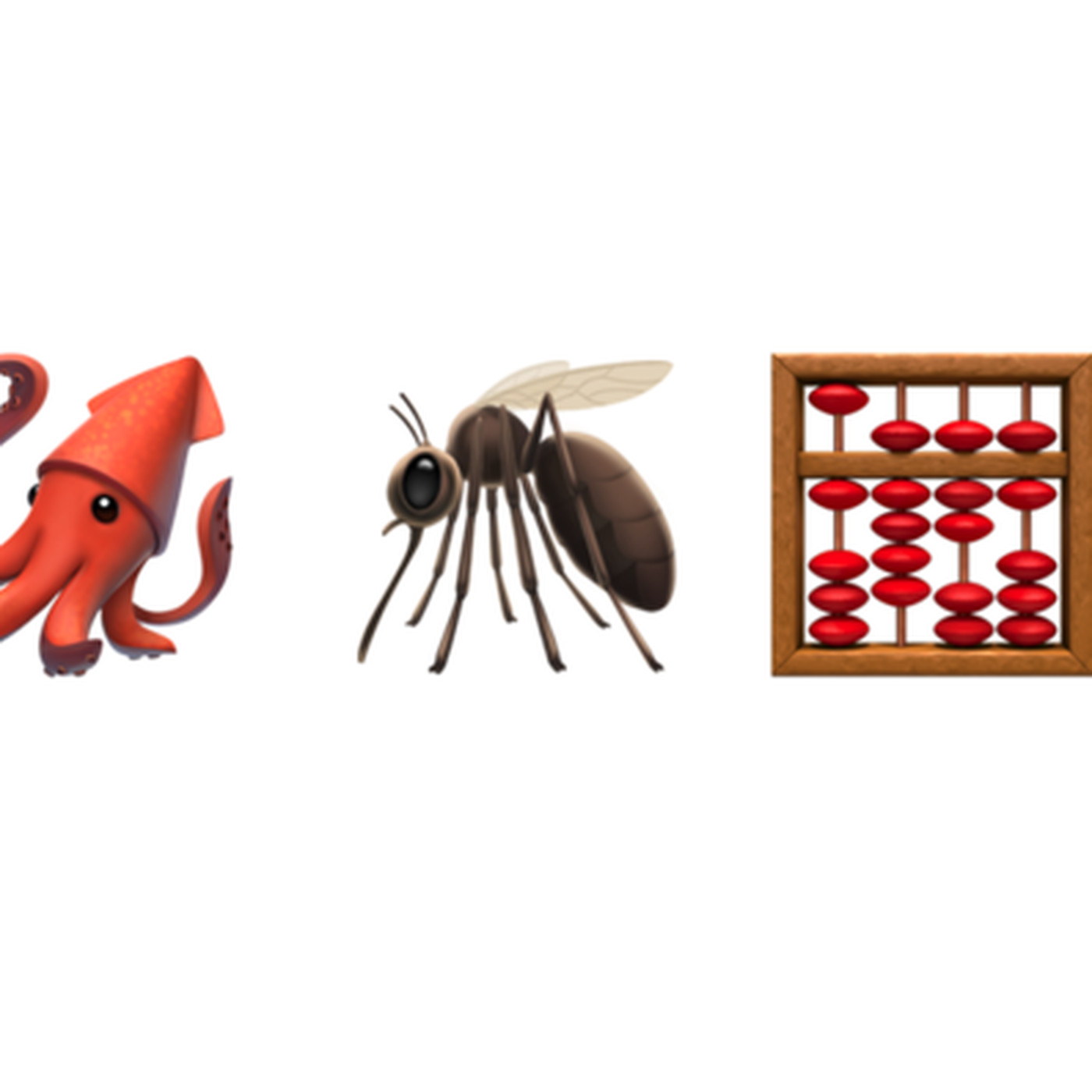 Ios 13 1 Finally Fixes The Squid Mosquito And Abacus Emoji The Verge