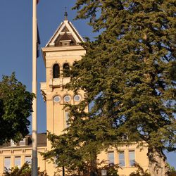 Old Main, originally constructed in 1889, is the flagship building of Utah State University, the state's land-grant institution.