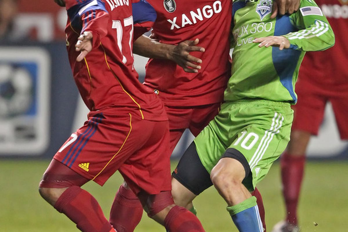 Physical play such as this surely has a role to play in FL10's apparent desire to leave MLS.