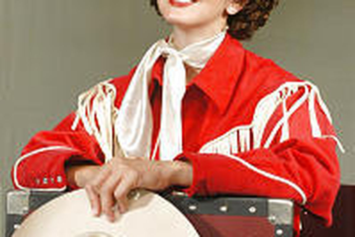 """Erica Hansen in the title role in """"Always . . . Patsy Cline."""""""