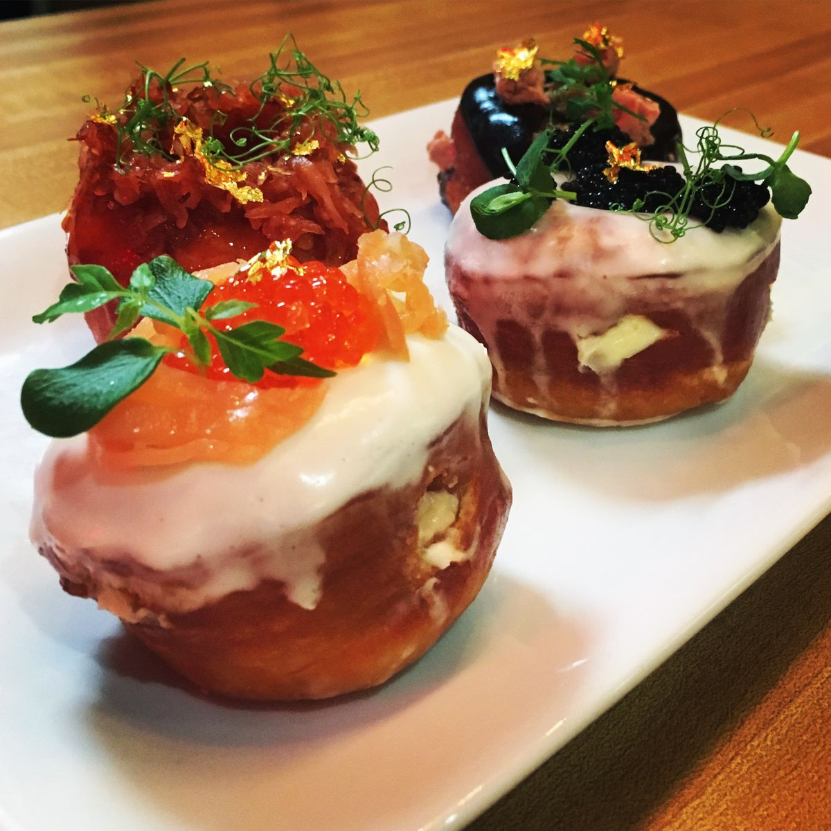 Forbidden Donuts' kimchi doughnut